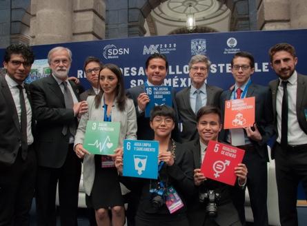 Foto del equipo que compone la Red de Desarrollo Sostenible MX2030, SDSN México.