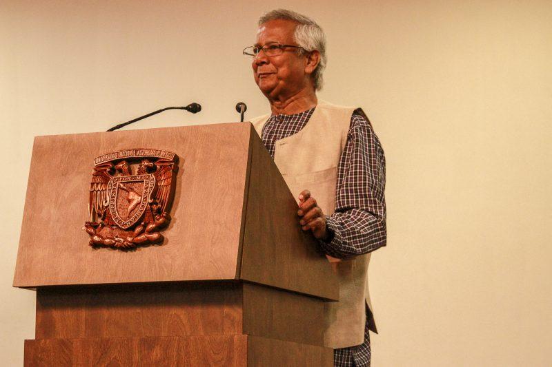 Visita de Muhammad Yunus, SDSN México
