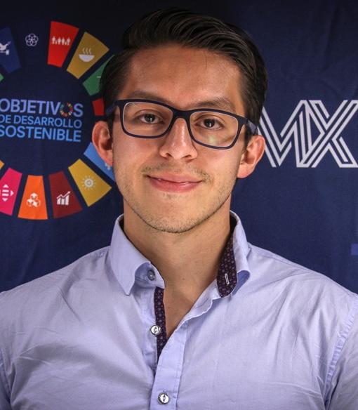 Foto de Alan Livas Silva, Analista de Innovación, Equipo creativo Red MX2030, SDSN México