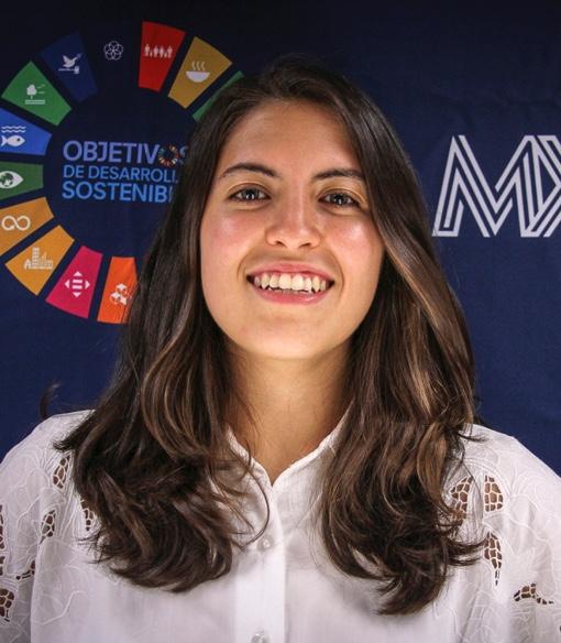 Foto de María Belén Avila Cascajares, Comunicación, Equipo creativo Red MX2030, SDSN México