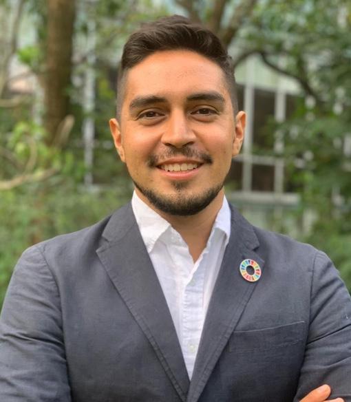 Foto de Raúl Gio Hernández, Analista de Innovación y Colaboración, Equipo creativo Red MX2030, SDSN México