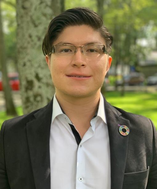 Foto de Rogelio Barrios Rosas, Coordinador SDSN Youth México, Red MX2030